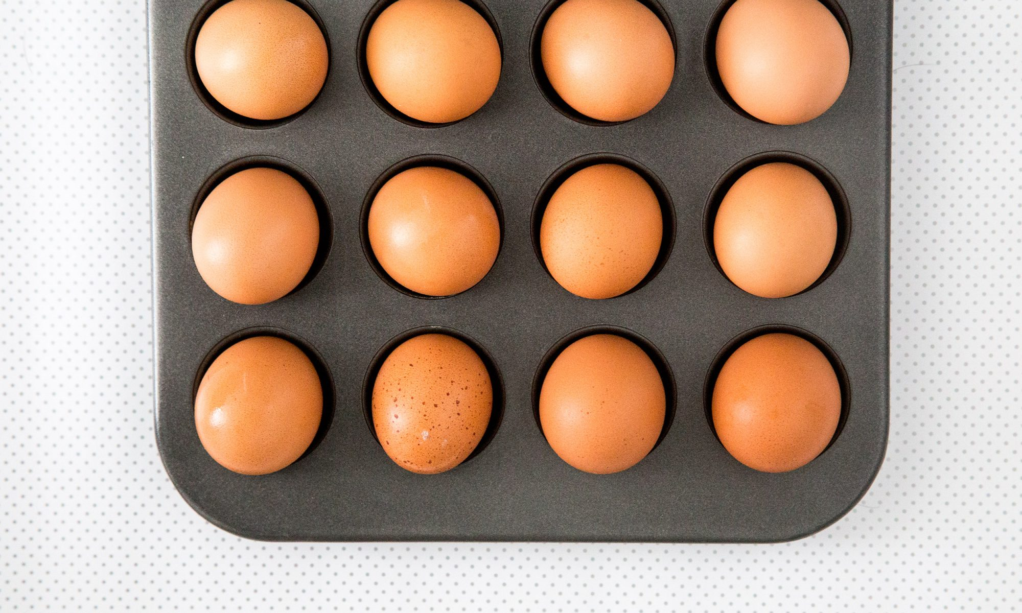 EC: How to Make 24 Hard-Boiled Eggs in the Oven at Once