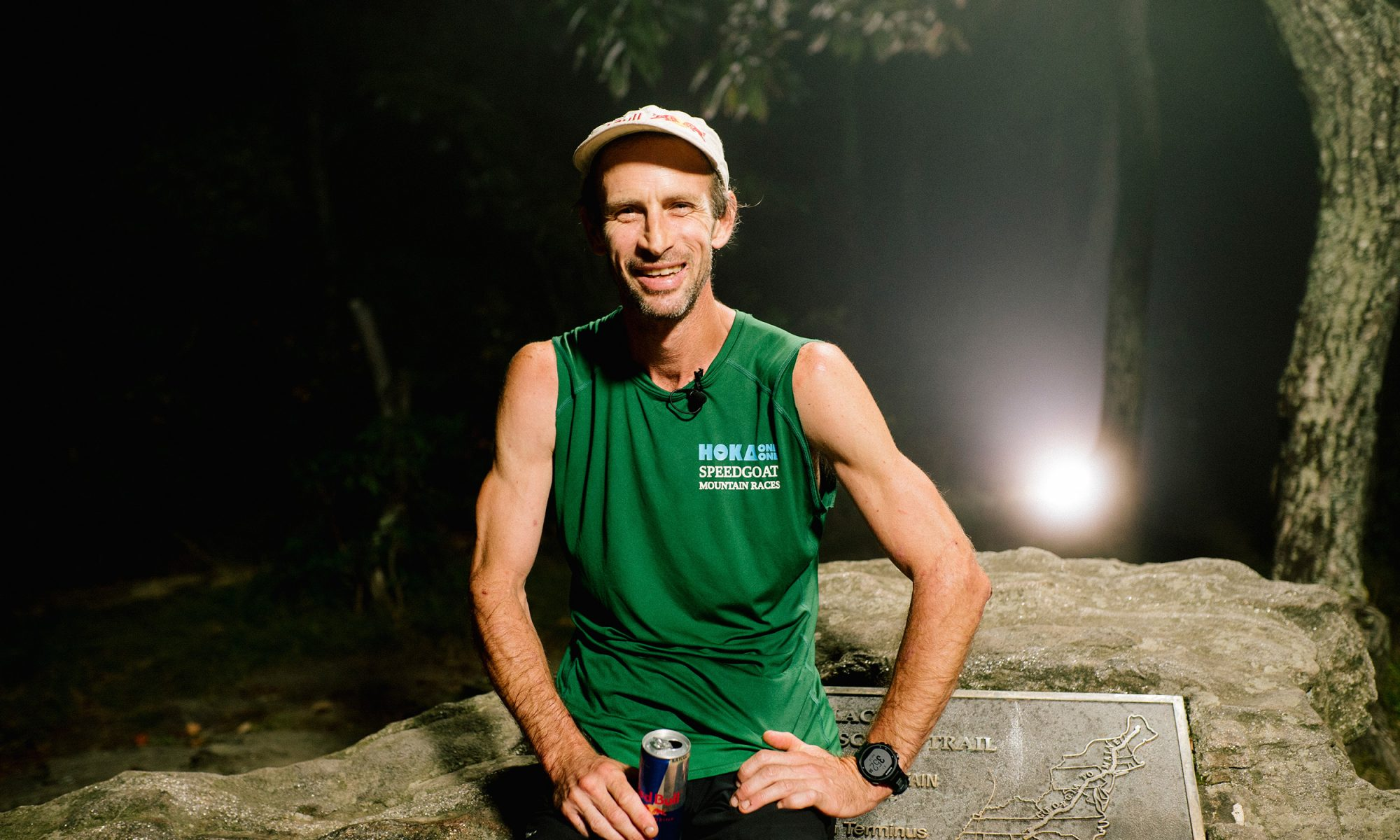 EC: Fueled by Bacon and Red Bull, Appalachian Trail Runner Sets Speed Record