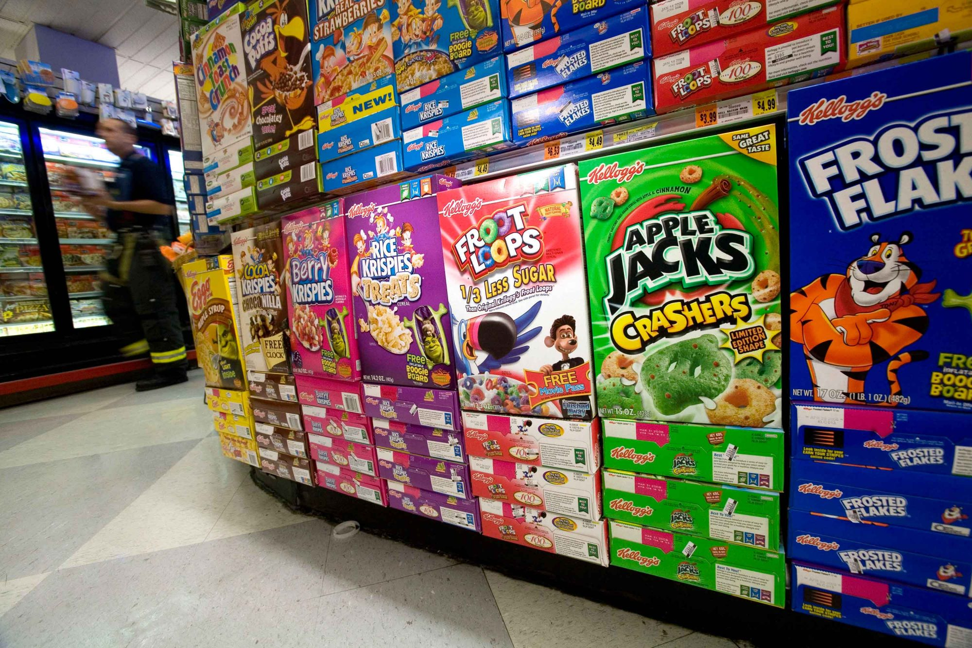 EC: Kellogg's Is Trying to Stop a Cereal Killer