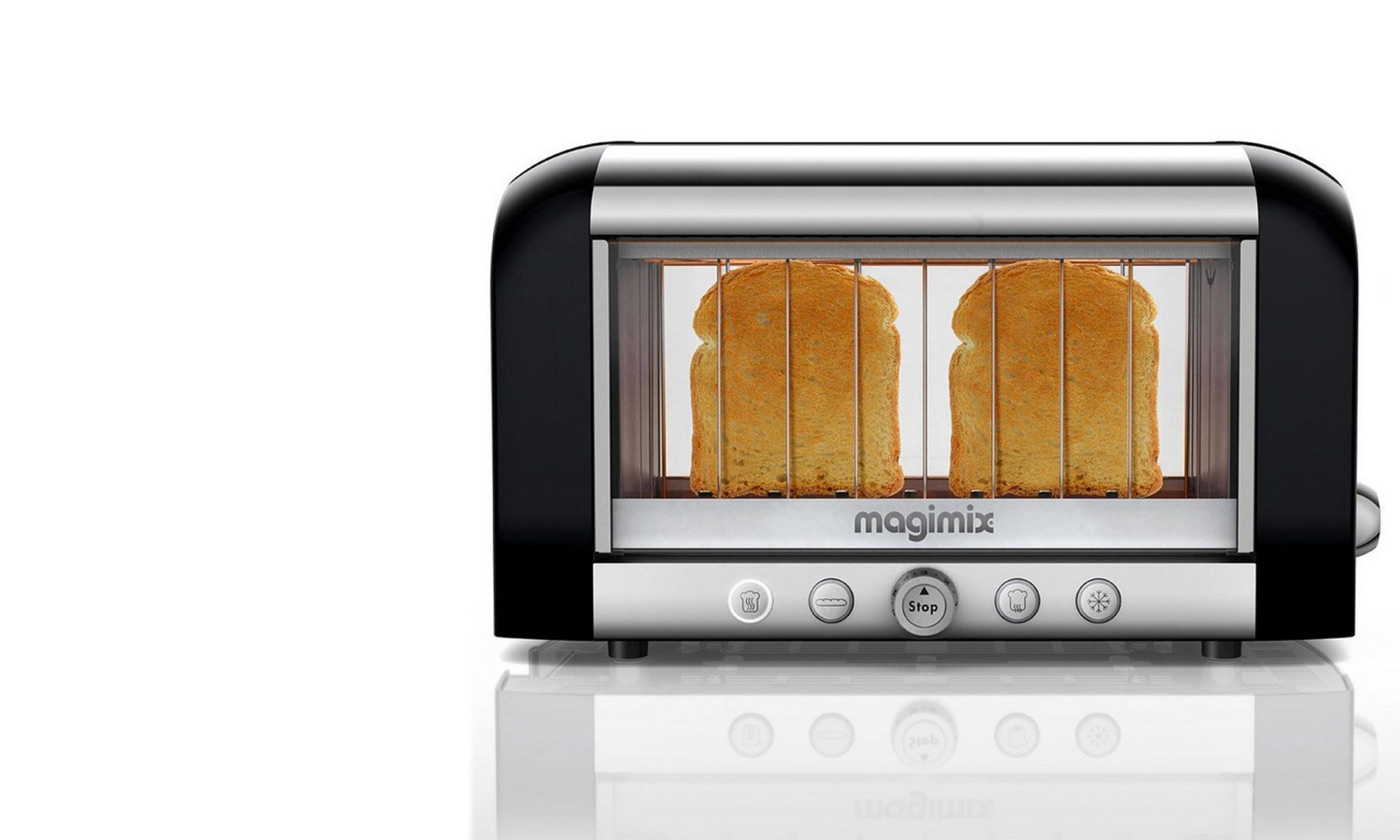 EC: This Glass Toaster Lets You Make Perfect Toast Every Time