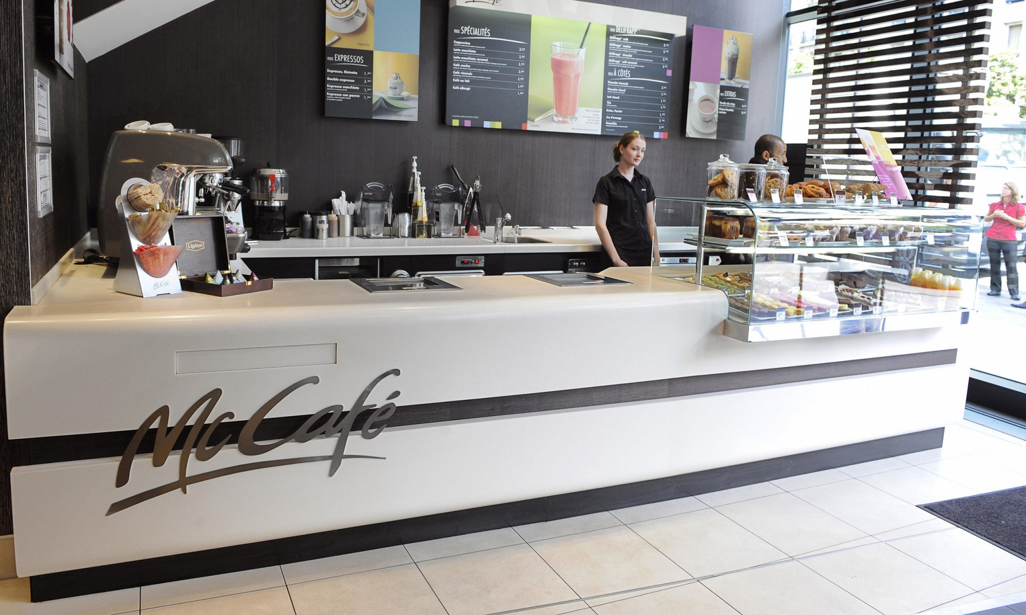 EC: France's Newest McDonald's Restaurant Only Sells Coffee and Pastries