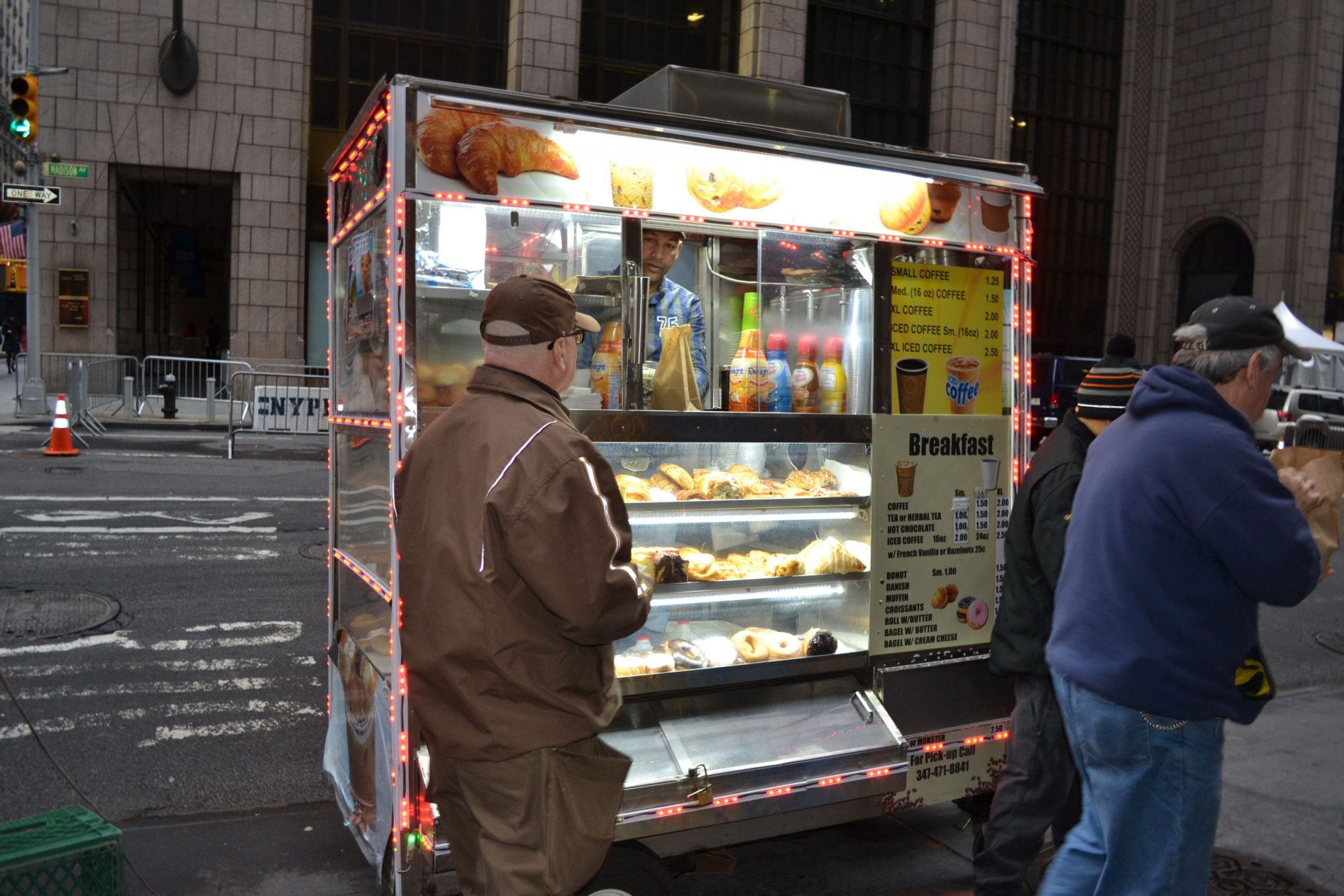 EC: How Coffee Cart Sales Are Suffering Around Trump Tower