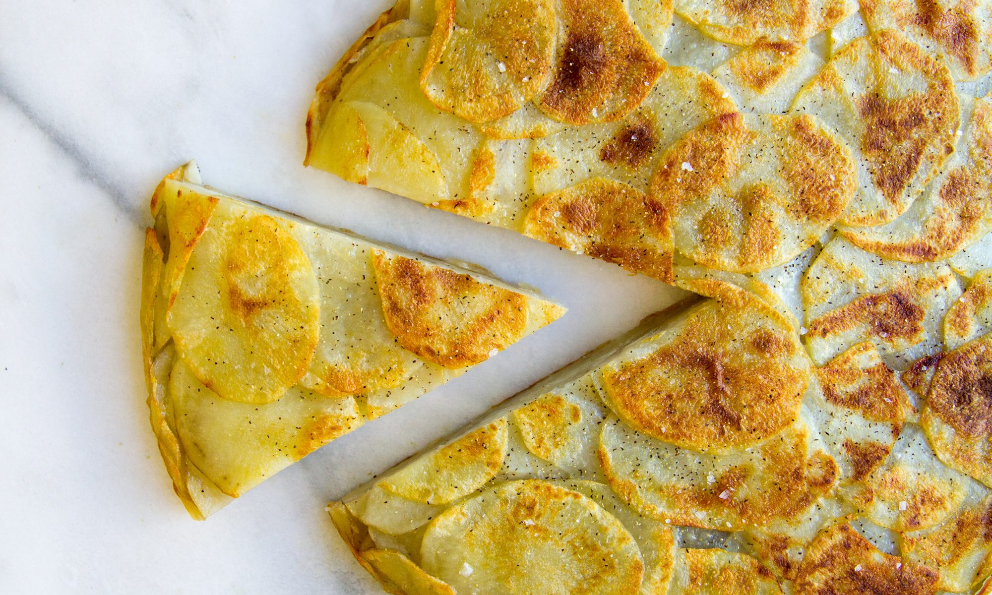 1-Ingredient Potato Frittata
