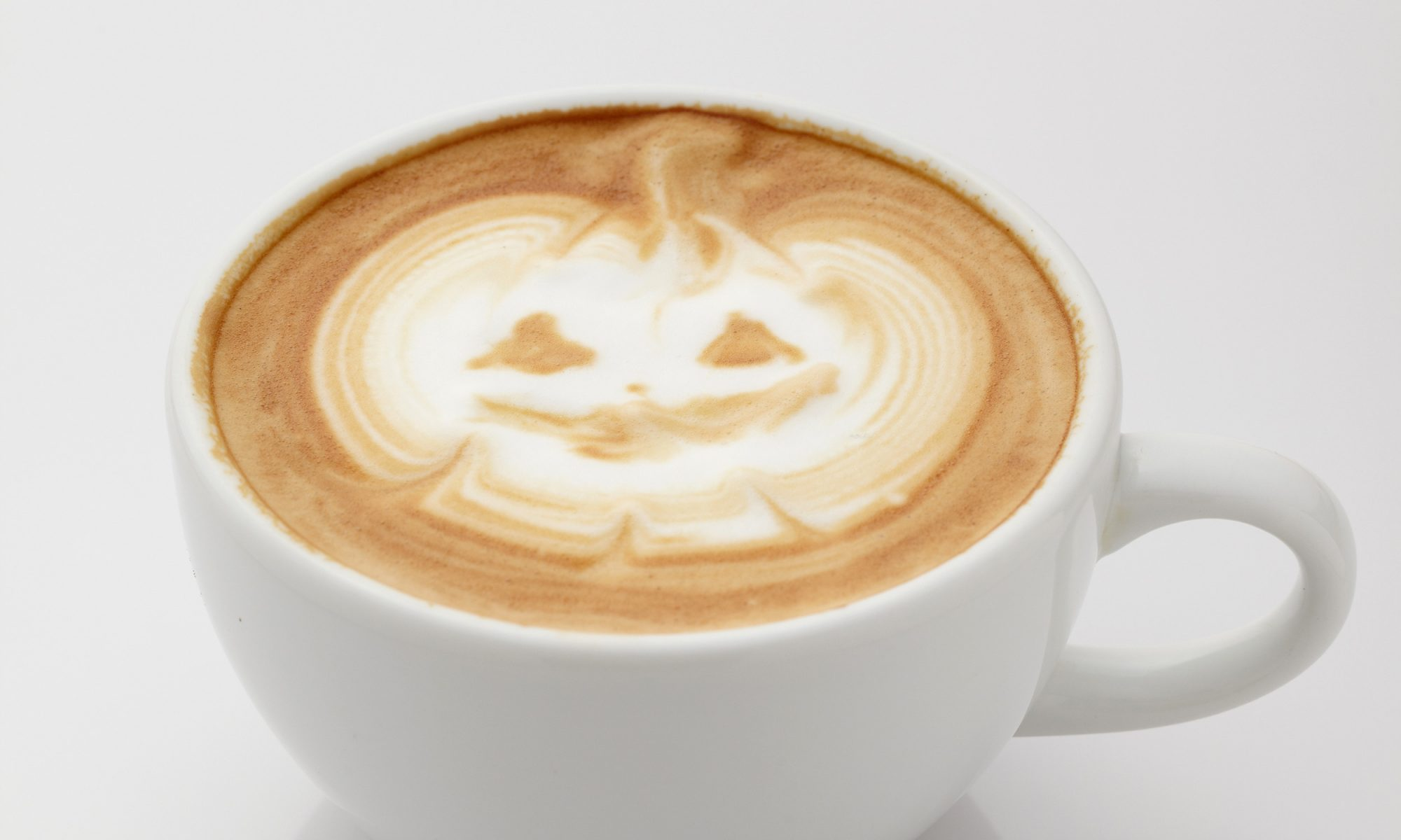 EC: Halloween Latte Art Is a Trick and a Treat
