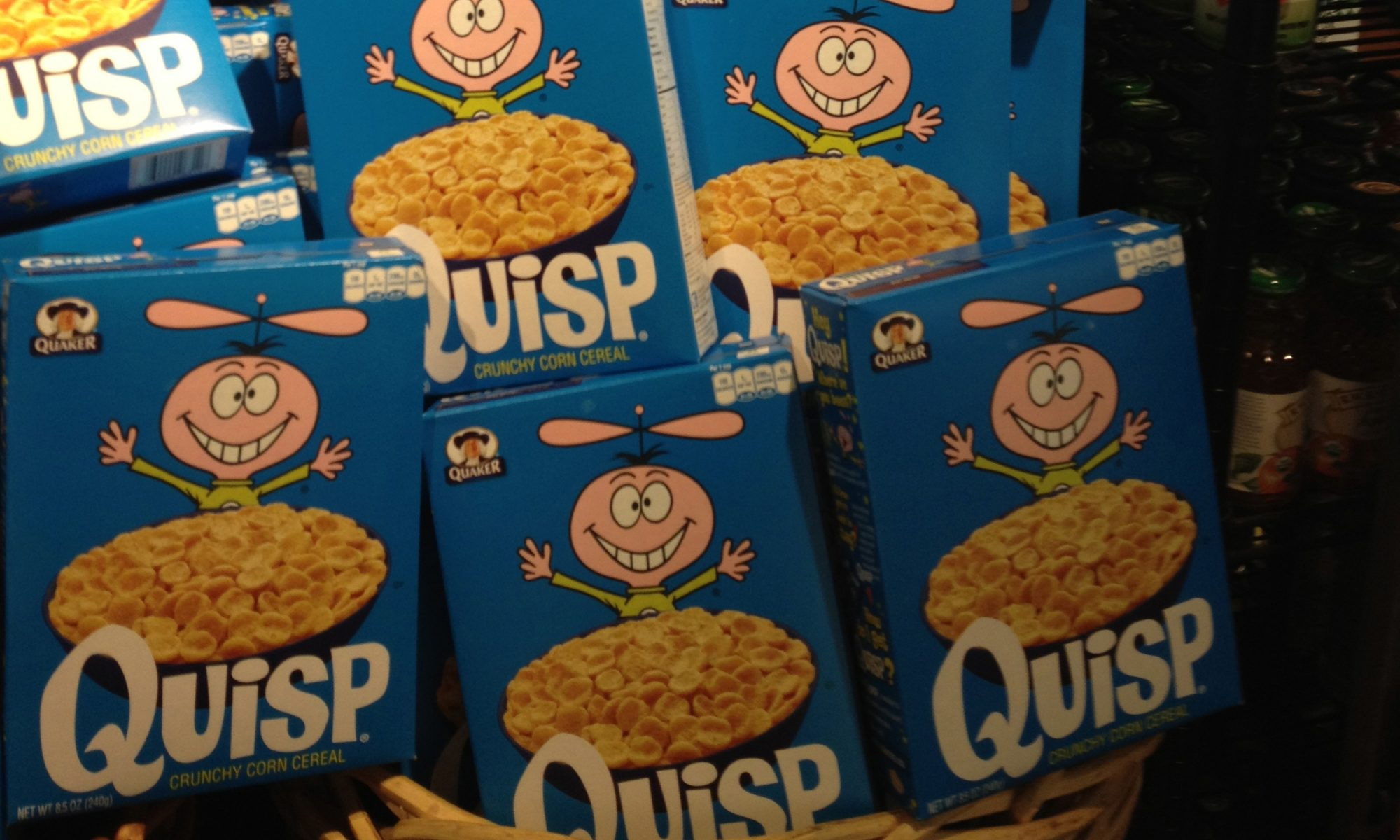 EC: Why Quisp Is the Greatest Cereal of All Time