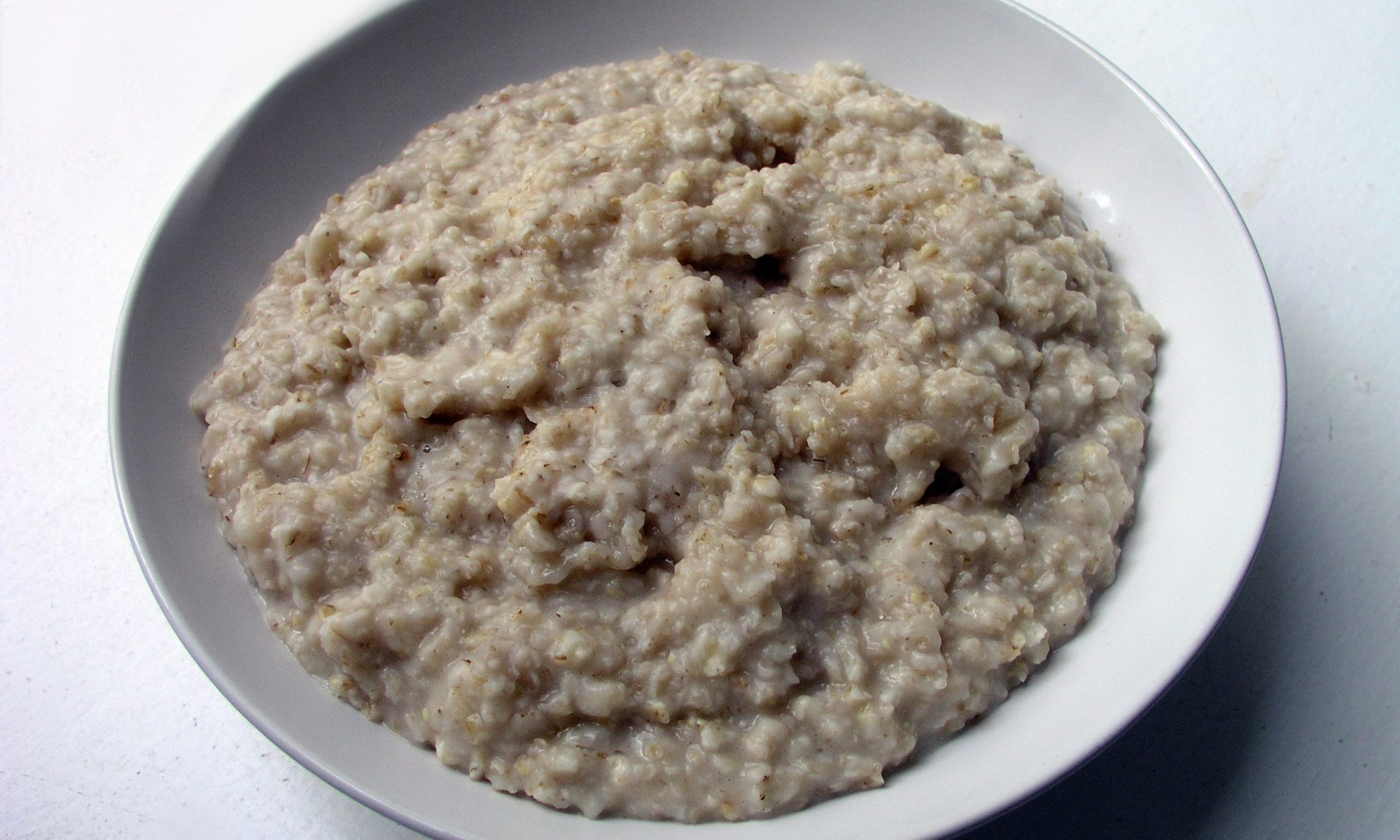 EC: Oatmeal Is for People Who Won't Let Themselves Have Nice Things