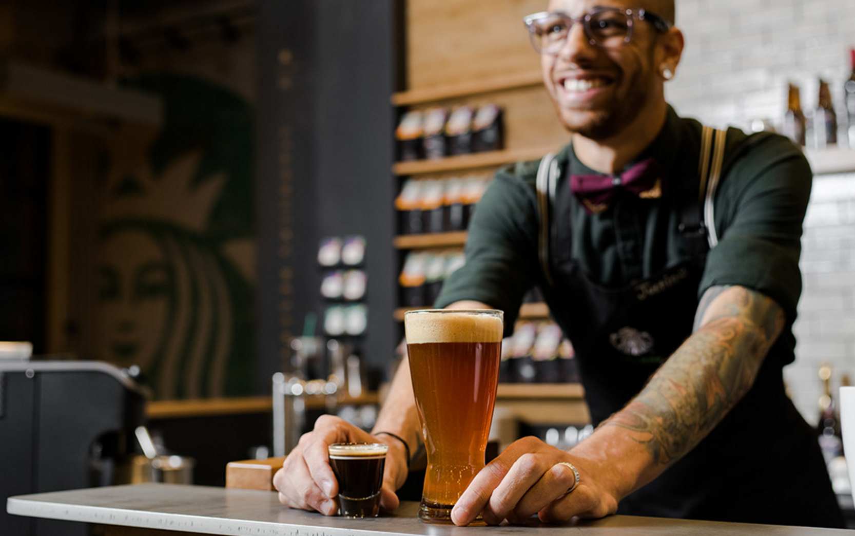 EC: New Starbucks Caffeinated Beer Cocktail Mixes IPA and Espresso