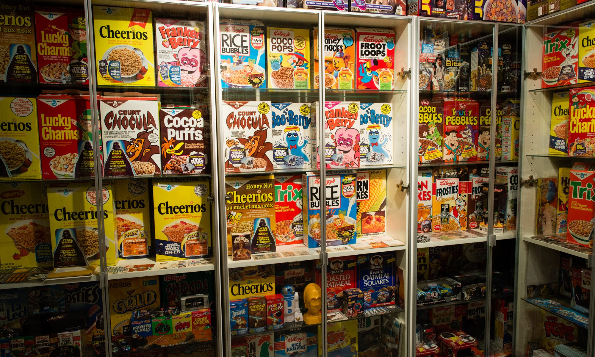 EC: The World's Largest Star Wars Cereal Collection Comes from Every Corner of the Galaxy