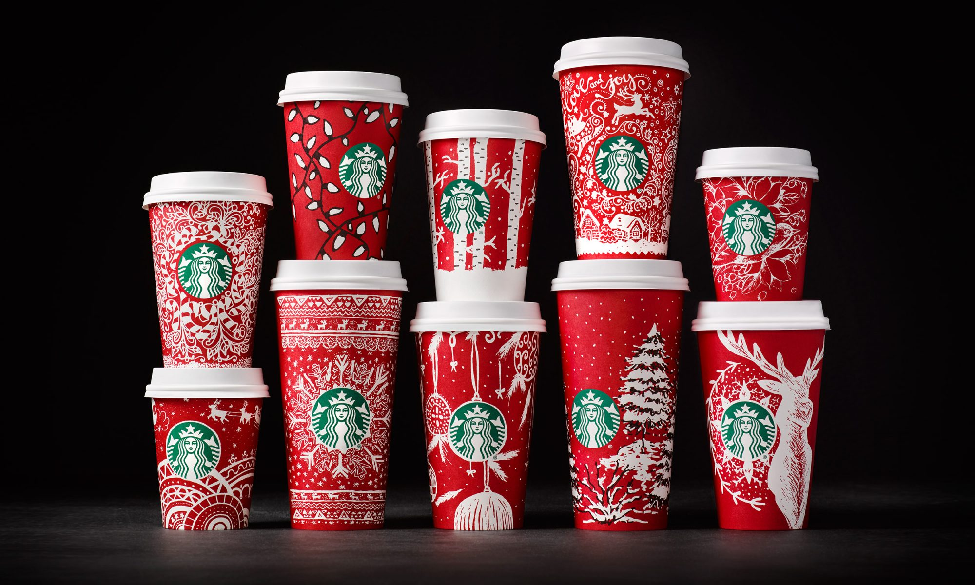 EC: New Starbucks Red Holiday Cups Are Revealed