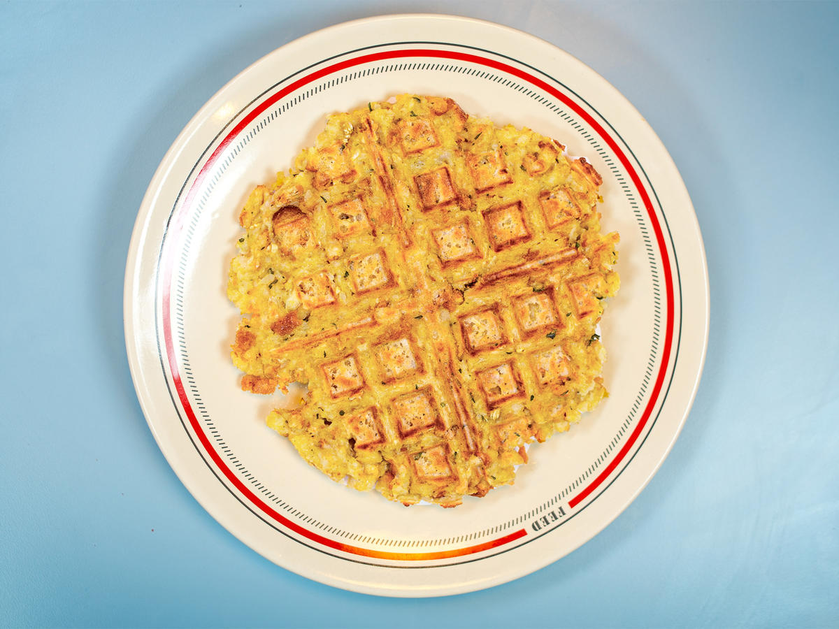EC: How to Make Stuffing Waffles