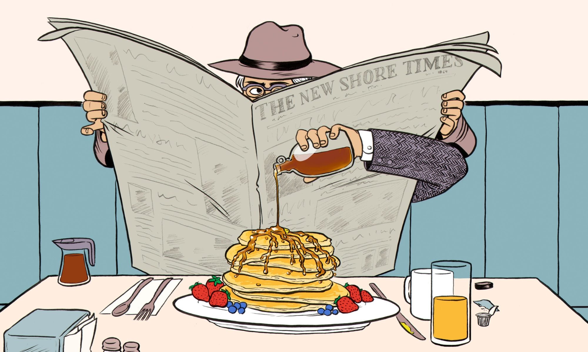 EC: Bring Your Own Syrup to the Diner—Seriously, It's Not Weird