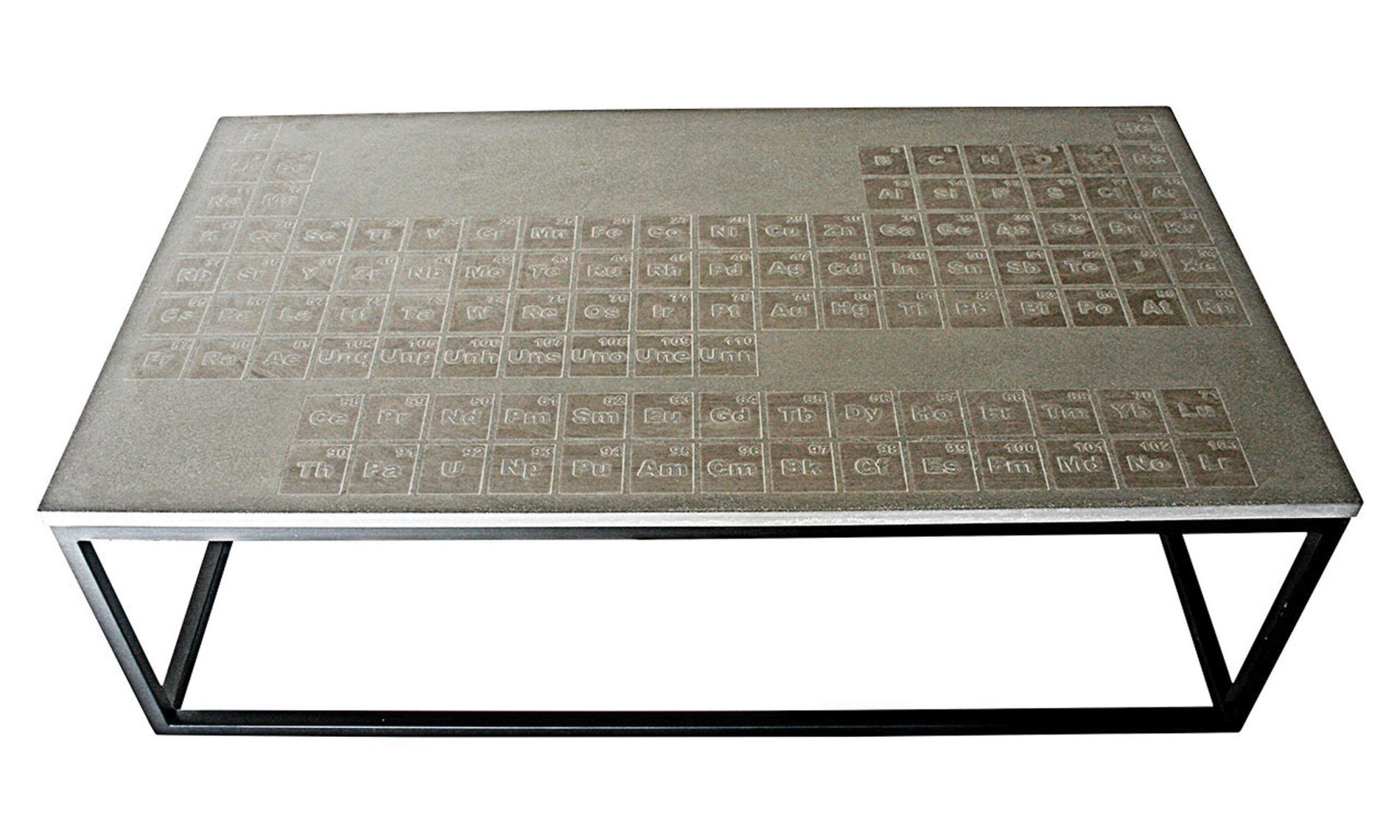 EC: This Periodic Table Coffee Table Teaches You Science While You Eat