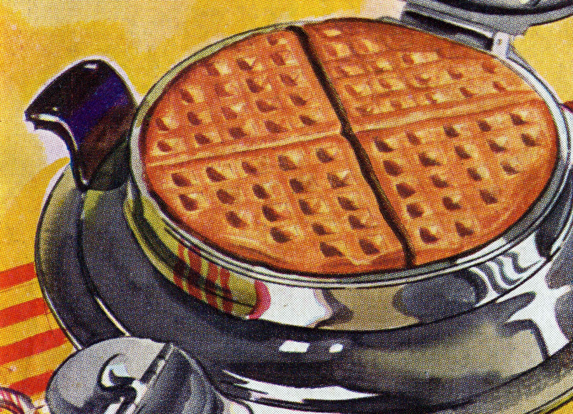 EC: The History of Waffle Irons Is Hot and Greasy