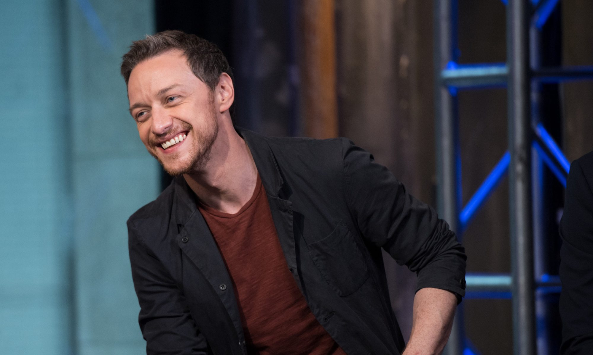 EC: James McAvoy on 'Colbert' Is as Scottish as Square Sausage