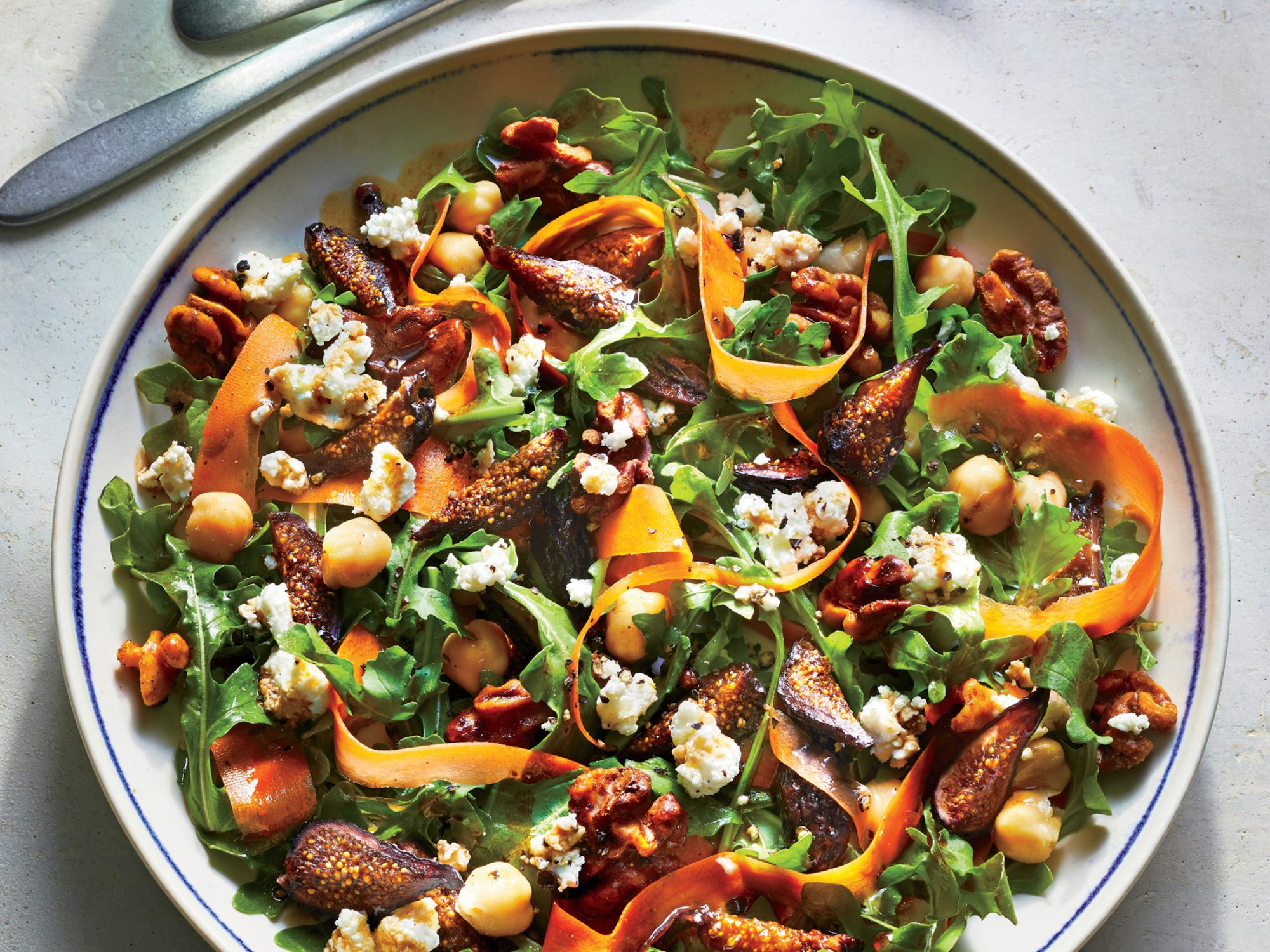 ck-Fig and Greens Salad