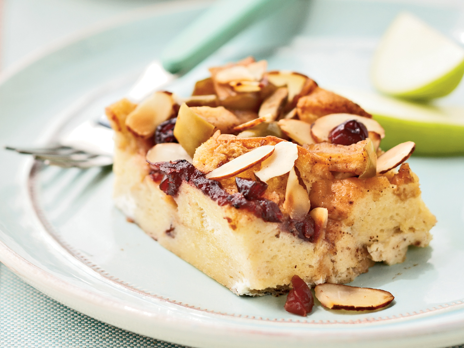 Cranberry-Apple French Toast Casserole
