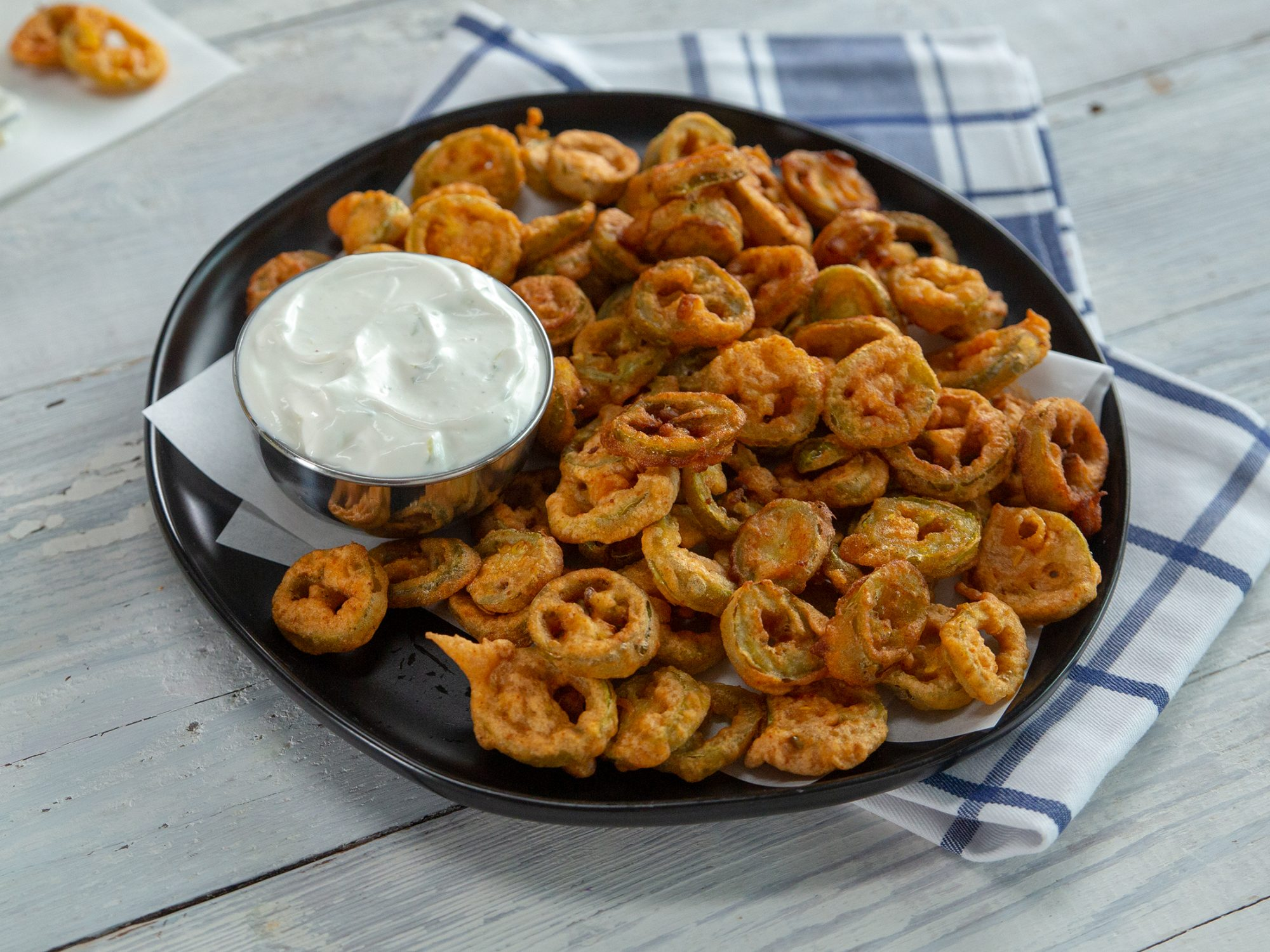wd- Fried Pickled Jalapeños with Sour Cream Ranch image