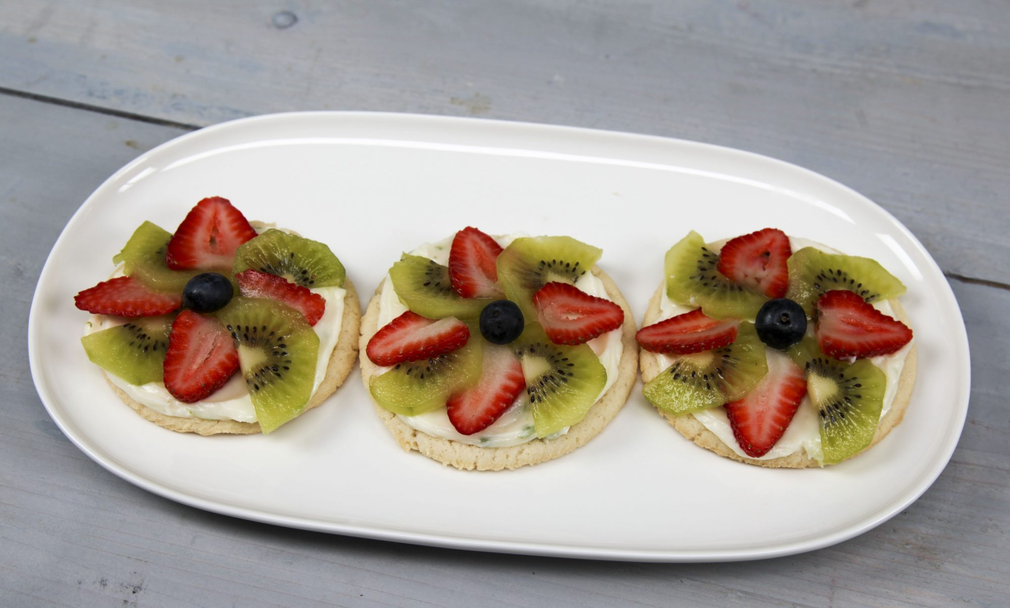 Toaster Oven Fruit Pizzas image