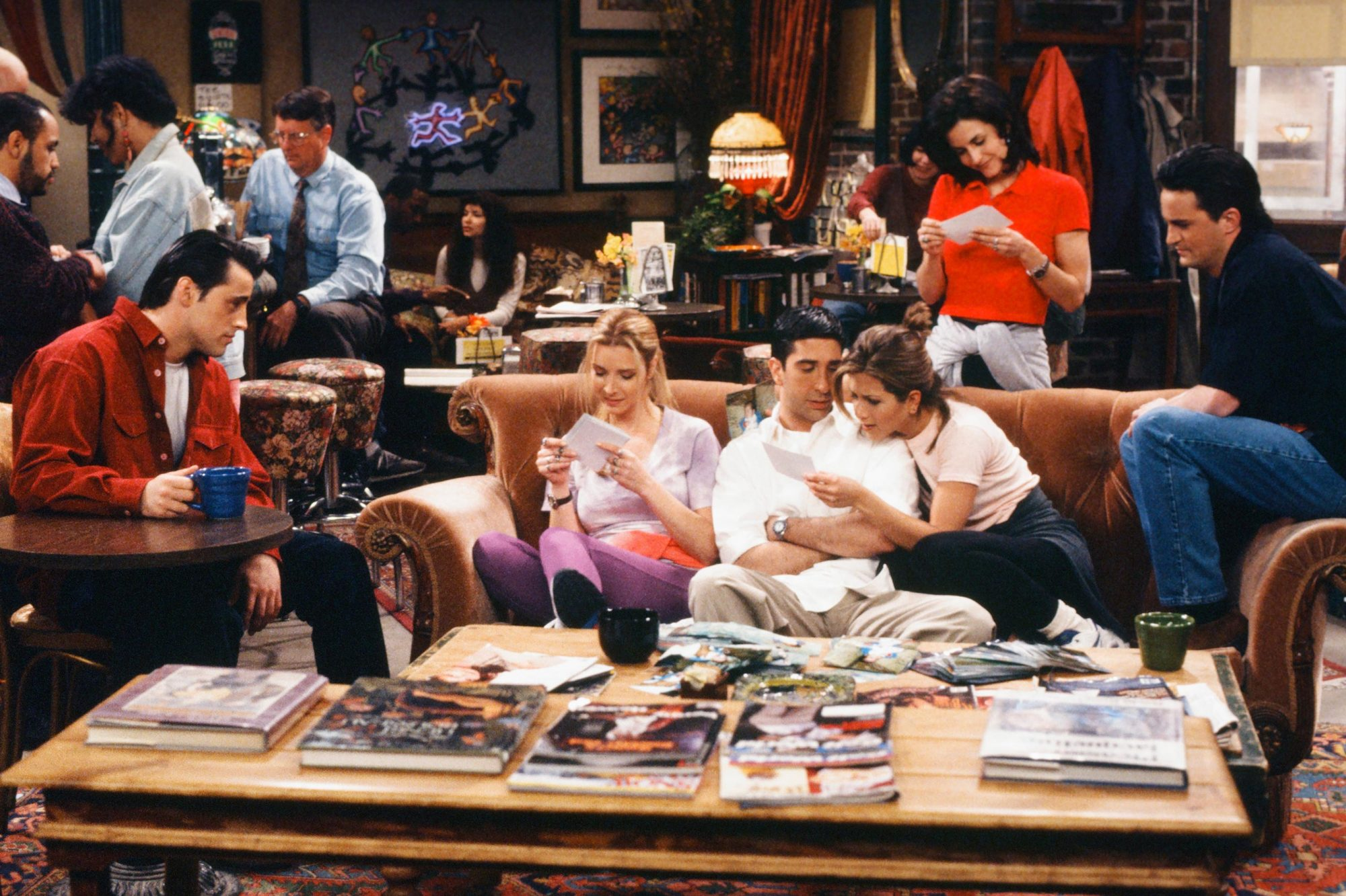 You can now buy Central Perk coffee in honor of Friends 25th anniversary gettyimages-183118177