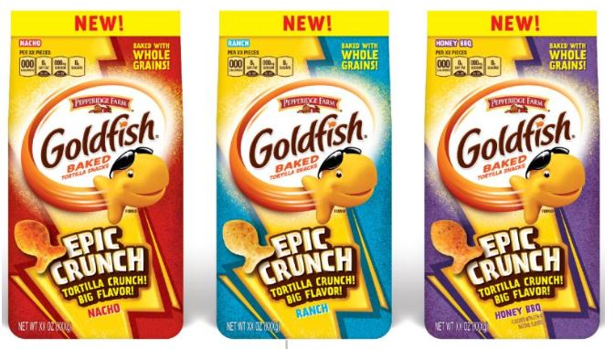 Goldfish Crackers Meet Tortilla Chips with 'Epic Crunch' Variety goldfish-epic-crunch-XL-BLOG1218