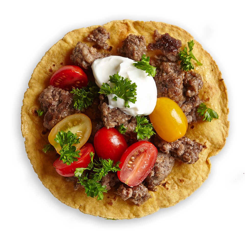 Greek Tostada