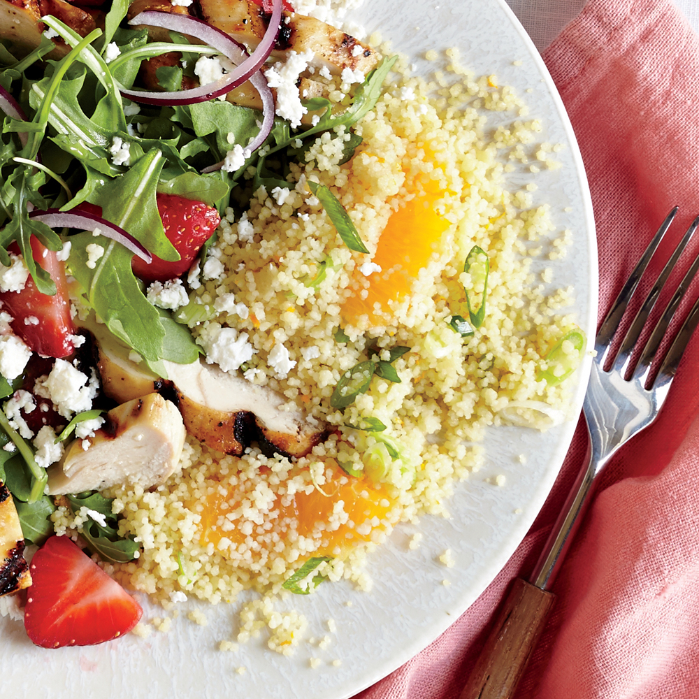 ck-Green Onion and Orange Couscous Image