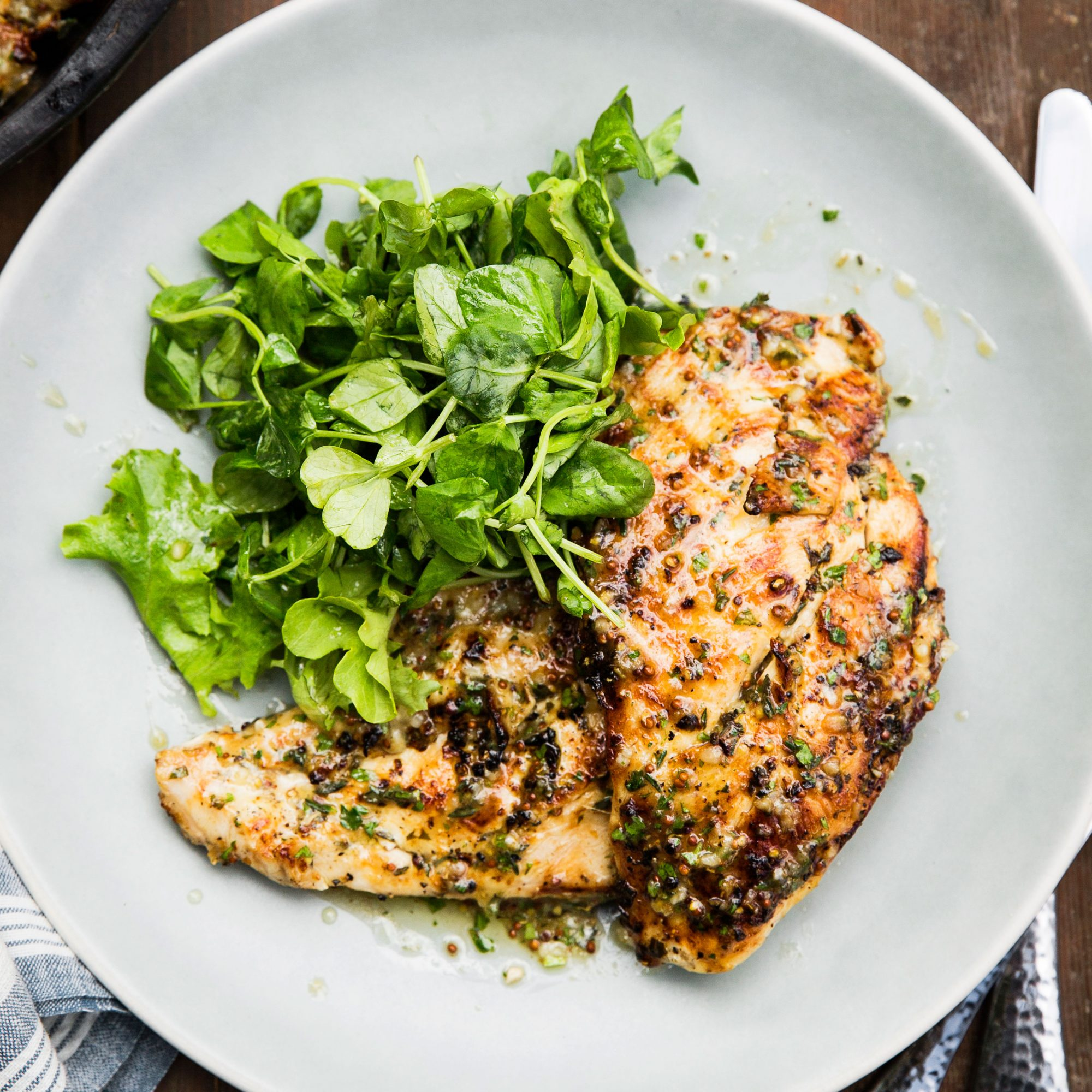 Grilled Chicken Cutlets