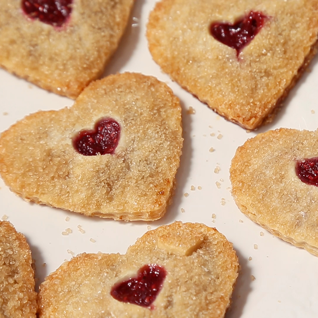 Heart Shaped Hand Pies