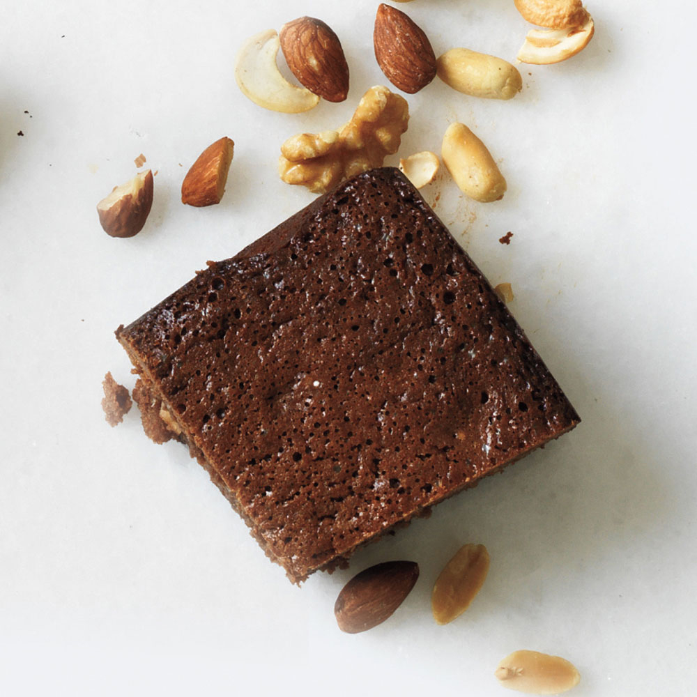 ay-Honey-Nut Brownies Image