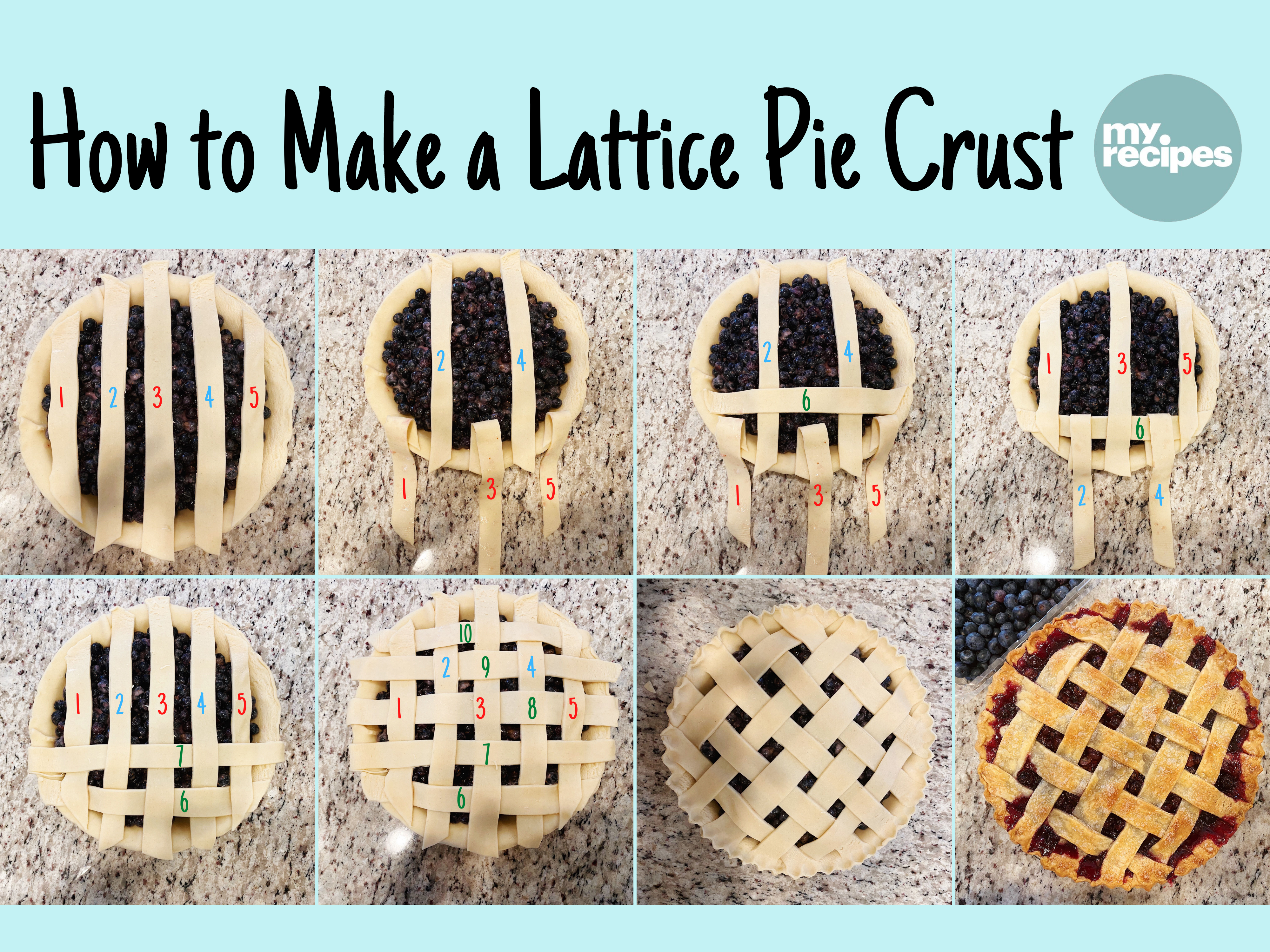 How to Make a Lattice Crust