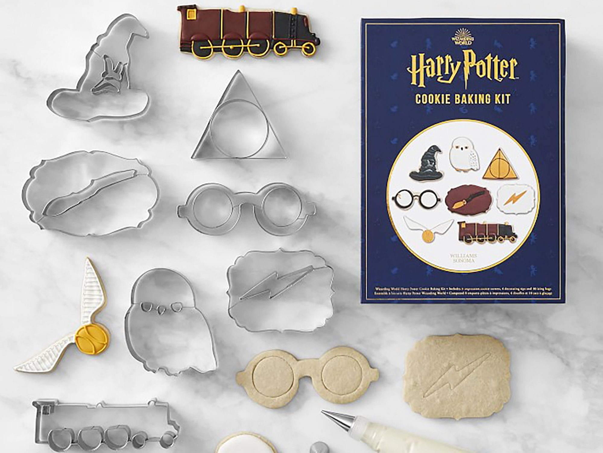 Williams Sonoma Adds New Harry Potter Items Just in Time for Holidays hp-cookie-baking-set