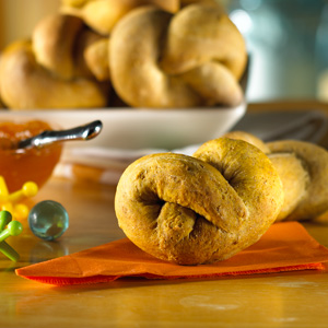 Pumpkin and Spice Rolls