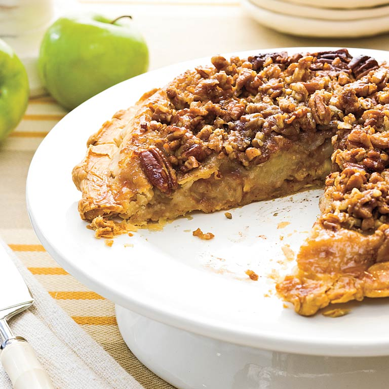 Apple Upside-Down Pie