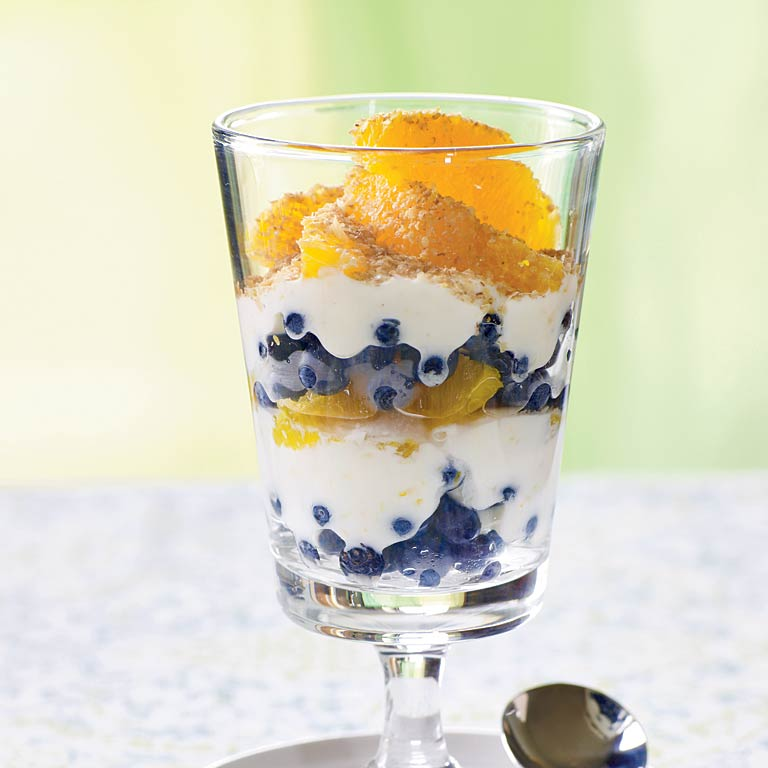 Blueberry-Orange Parfaits