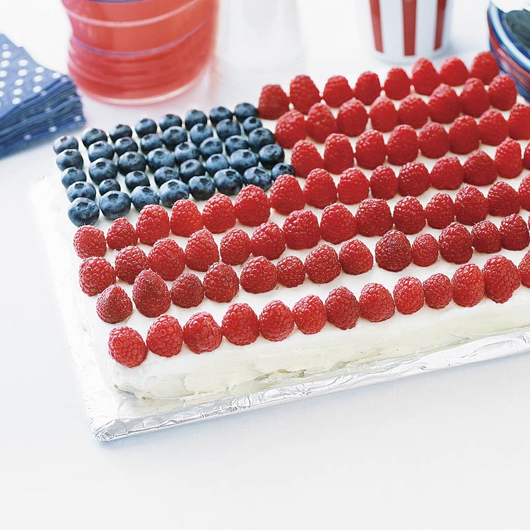 The Best Ever American Flag Cake