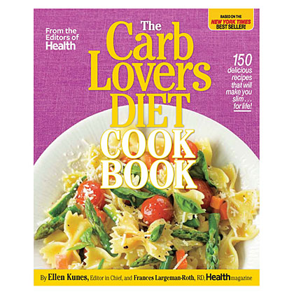 carb lovers book cover