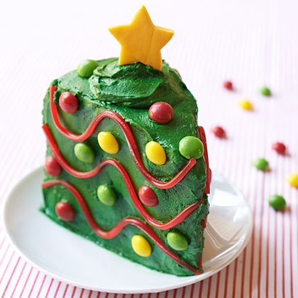Christmas Tree Cake Wedge