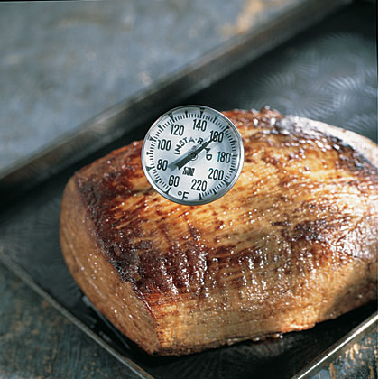 Not using a meat thermometer can ruin a holiday meal.