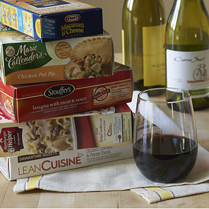 Pairing Wine and Convenience Foods