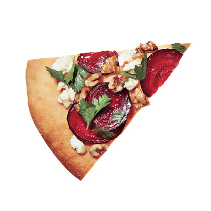 Roasted Beet and Goat Cheese Pizza