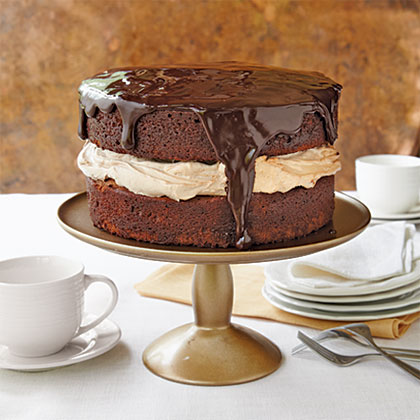Triple-Chocolate Cake