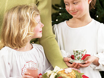 Mother-Daughter Holiday Tea Menu