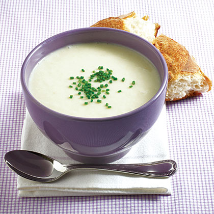 Potato and Spring Onion Soup