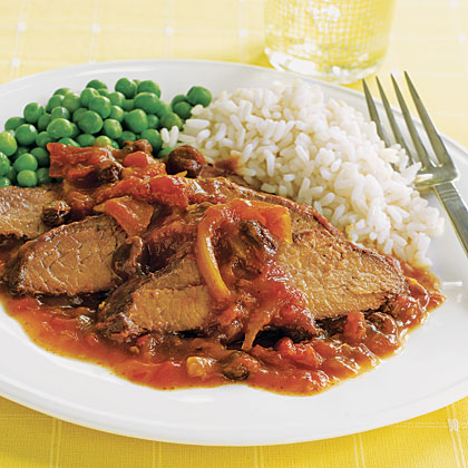 Slow-Cooker Sweet-and-Sour Brisket