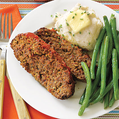 Meatloaf with Mozzarella, Mushrooms and Pepperoni