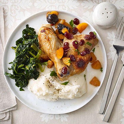 Baked Chicken with Dried Fruit