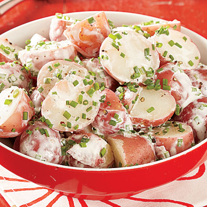 Chive Potato Salad