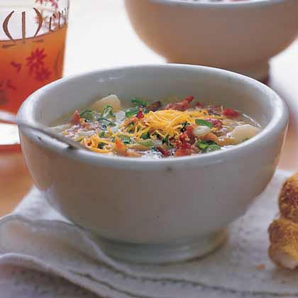 Baked Potato-and-Bacon Soup