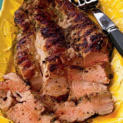 Jamaican Jerk Pork Tenderloin