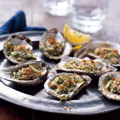 Baked Italian Oysters